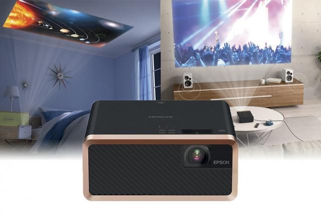 Найменший лазерний 3LCD-проектор у світі від Epson