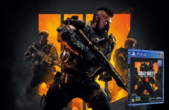 Добірка ігор на PS4. Call of Duty: Black Ops 4