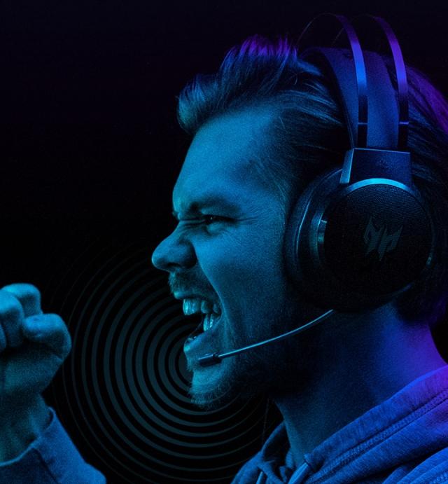 Крутий 3D звук і неперевершена продуктивність: нова ігрова гарнітура Acer Galea 300 вже на складі
