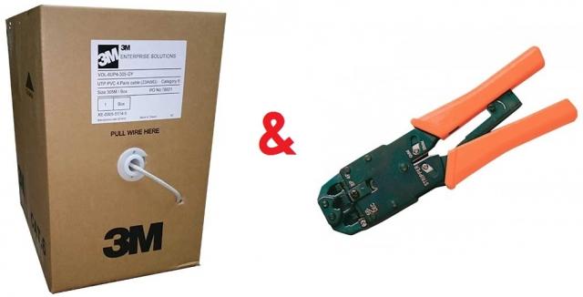 Акція з просування мережевого кабелю 3М