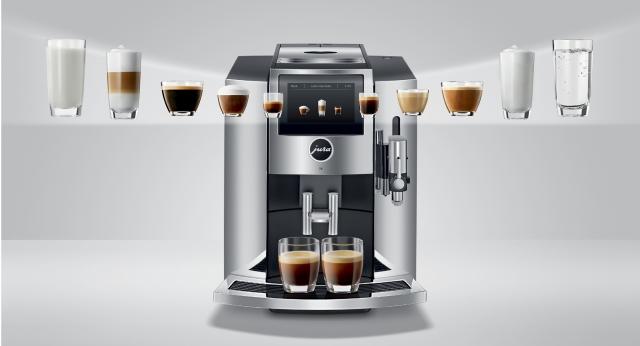 Кавомашини JURA S. Досконала простота приготування кави