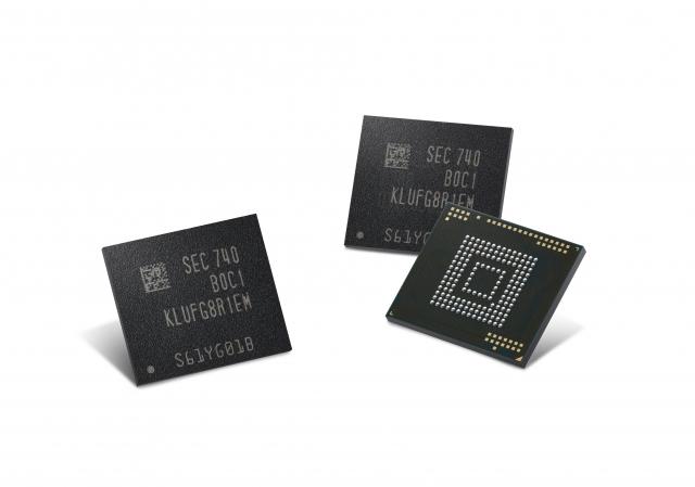 Samsung випускатиме смартфони з об'ємом пам'яті 512 ГБ