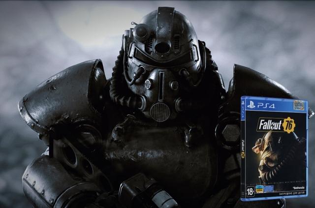 Добірка ігор на PS4. Fallout 76