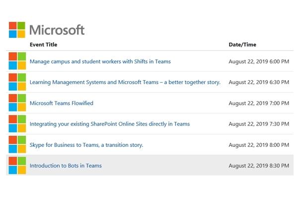 Віртуальна зустріч з командою інженерів Microsoft Teams EDU