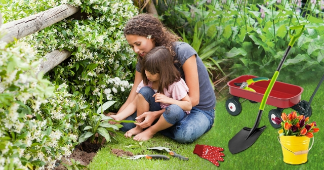 Товари дорослим і маленьким садівникам – готуємось до відкриття дачного сезону!