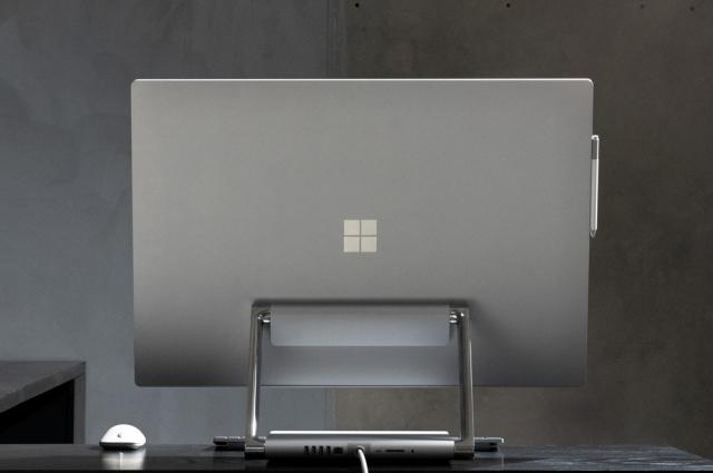 Футуристична творча студія: огляд універсального моноблоку Surface Studio 2