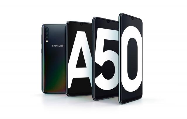 Зустрічайте новинку Samsung Galaxy A50!