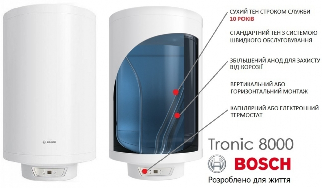 Bosch Tronic 8000 на складі ERC