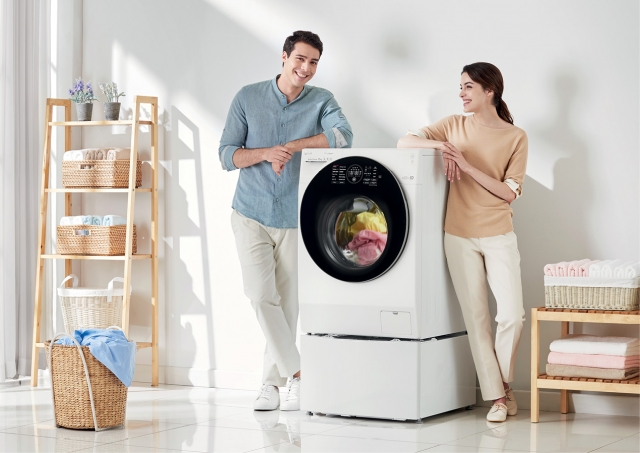 Подвійна суперсила прання LG TWINWash