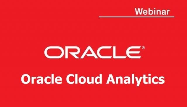 Вебінар «Хмарна аналітика від Oracle»