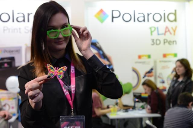3D друк на CEE 2019: сучасний друк та малюнки з Polaroid та XYZ Printing