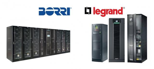 Legrand і Borri об'єднуються для спільної діяльності з виробництва джерел безперебійного живлення (ДБЖ)