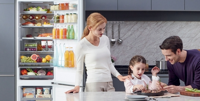Холодильник LG із технологією DoorCooling+