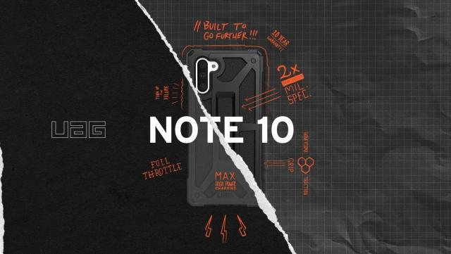 Чохли UAG для Samsung Galaxy Note 10