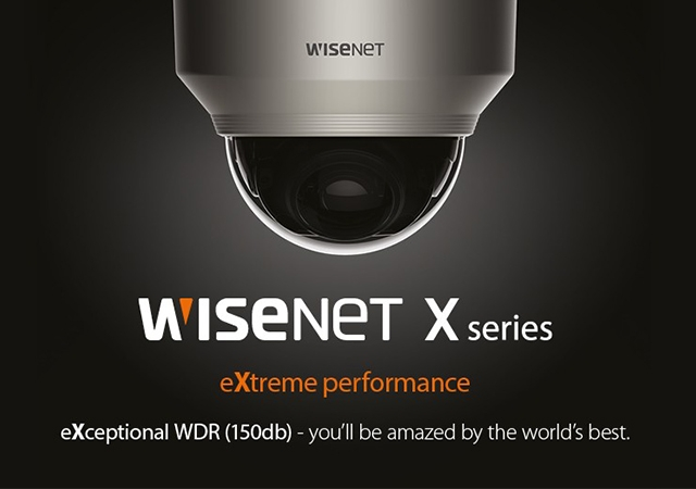 Нова серія IP-камер WISENET X