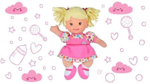 Інтерактивні ляльки Baby`s First - милі співрозмовниці з відкритими обіймами
