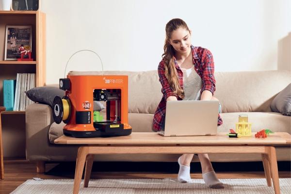 «Харчовий раціон» 3D-принтерів XYZ printing