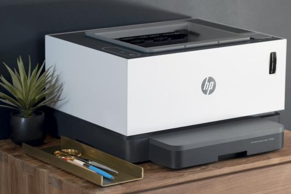 Великі обсяги друку без затримок HP Neverstop Laser