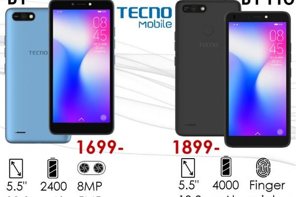 3G камерофони TECNO - безрамковий 5.5 дюймів екран за ціною 5-дюймового