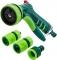Verto Набір: Зрошувач пістолетний, з'єднувачі, з коннектором 1/2