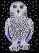 Sequin Art Набір для творчості BLUE Snowy Owl New