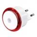 HAMA Мережевий LED  світильний Basic, колір підсвітки червоний