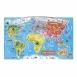 Janod Магнітна карта світу (англ.мова)