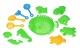 Same Toy Набір для гри з піском Зелений (13 од.)