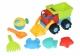 Same Toy Набір для гри з піском Вантажівка Червона (7 од.)