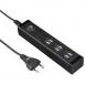 HAMA Мережевий зарядний пристрій USB (6 шт. Роз'ємів USB)