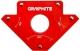 Verto Зварювальний кутник магнітний GRAPHITE 56H903, 122 x 190 x 25 мм, кут 45 або 90 град., сила 34 кг