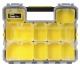 Stanley Ящик-органайзер пластмасовий вологозахисний з метал. замками (44.6 x 7.4 x 35.7)