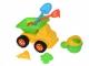 Same Toy Набір для гри з піском Зелений кузов (6 од.)