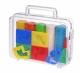 Becks Plastilin Набір пластиліну 500г. 5 кольорів з формами в кейсі