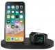 Belkin Qi Wireless iWatch( 1A) + iPhone (7.5W) + USB A 5W/1A [Black]