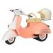 Our Generation Транспорт для ляльок - Скутер бежевий