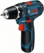 Bosch Professional GSR 12V-15, 2х2.0Ач, Li-On акумуляторна