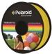 Polaroid Котушка з ниткою 1.75мм/1кг PLA, прозорий жовтий