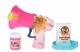 Same Toy Мильні бульбашки Bubble Gun Рупор зі світлом (рожевий)