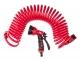 Top Tools 15A711 Зрошувач пістолетний із шлангом спіральним, 15 м
