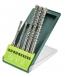 Verto Набор буров, SDS Plus, 5, 6 x 110 mm + 8, 10, 12 x 160 мм, x 5 шт.