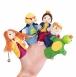 goki Набір ляльок для пальчикового театру - Царівна Жабка