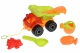Same Toy Набір для гри з піском Вантажівка червона (6 од.)