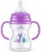Bayby Пляшечка для годування 150мл 6м+ фіолетова