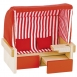 goki Набір для ляльок Пляжний стілець