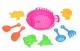 Same Toy Набір для гри з піском Рожевий (9 од.)