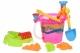 Same Toy Набір для гри з піском - Відерце рожеве (8 од.)