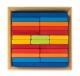 nic Конструктор дерев'яний - Різнобарвна пластина