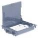 Legrand DLP люк напольный глуб. 75-105 мм 12 модулей Mosaic крышка для ковр/паркет покрытия серый