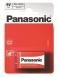 Panasonic RED ZINK 6F22 [BLI 1 ZINK-CARBON]